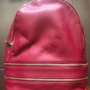 Red forever 21 bag used three times